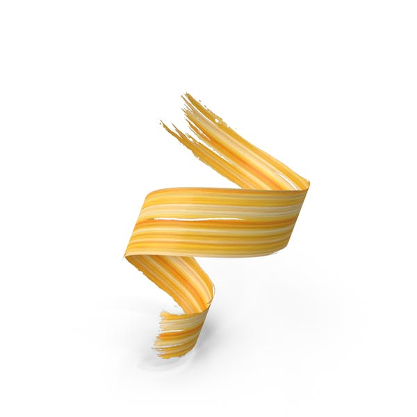3D Paintbrush Stroke