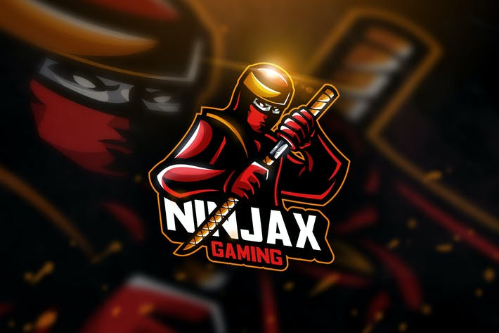 Thumbnail for Ninja Sword - Mascot & Esport Logo