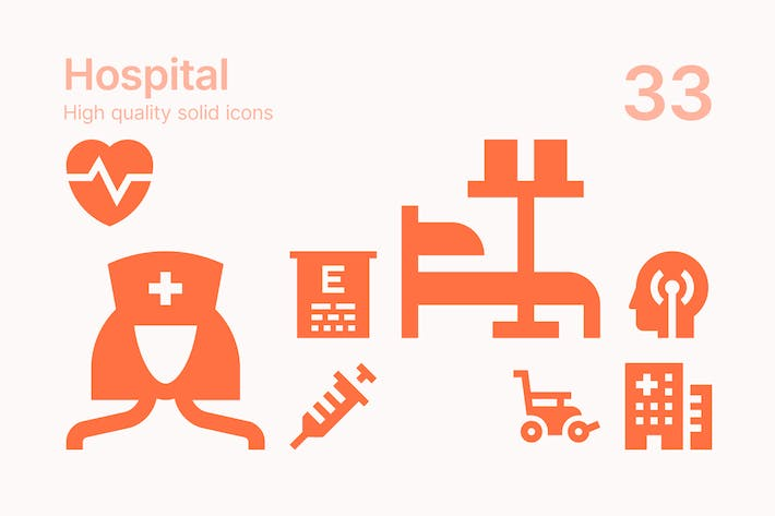 Thumbnail for Hospital Icons