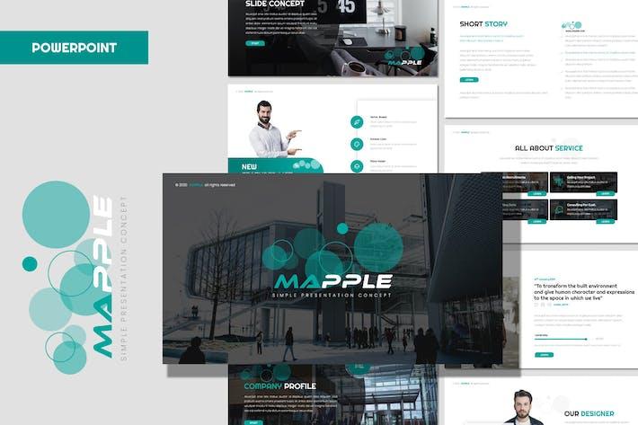 Thumbnail for Мапл - бизнес-Powerpoint Шаблон