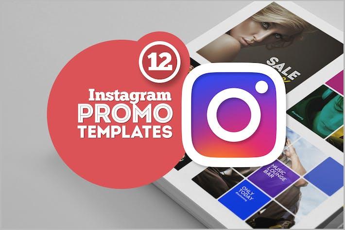 Thumbnail for Instagram Promo Templates