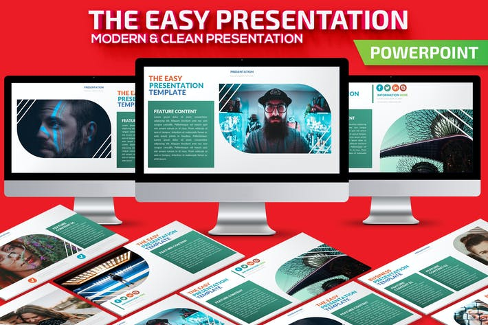 Thumbnail for The Easy Powerpoint Presentation Template