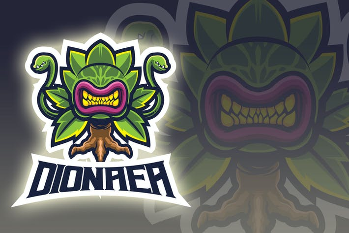 Thumbnail for Man Eater Plant Esport Logo