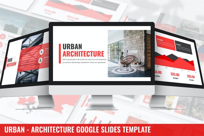 Thumbnail for Urban - Architektur Google Slides Vorlage