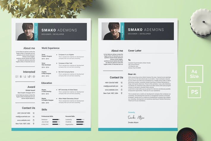 Thumbnail for Resume Template 38