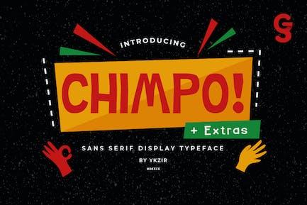 Chimpo Typeface