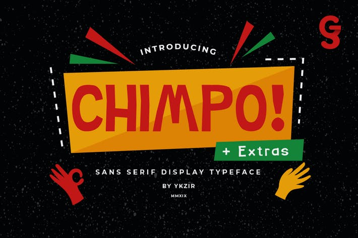 Thumbnail for Polices de caractères Chimpo
