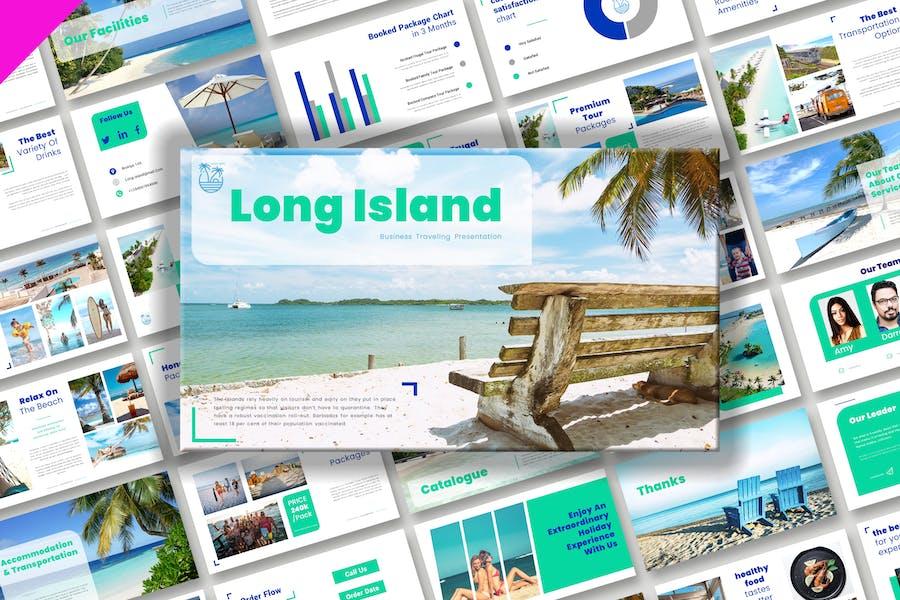 Презентация делового путешествия на Лонг-