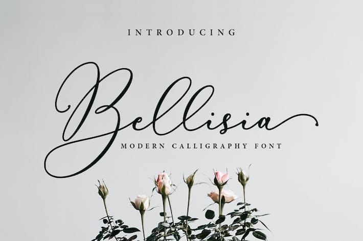 Шрифт сценария Bellisia!