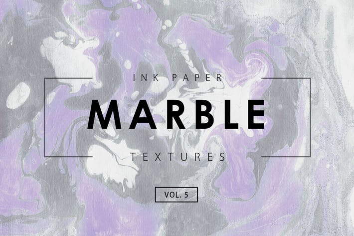 Cover Image For Marble Ink Textures 5