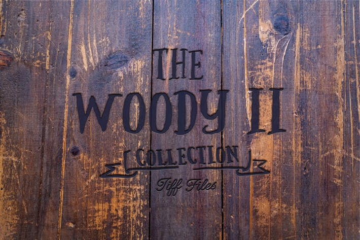 Thumbnail for The Woody II - 101 wood texture collection