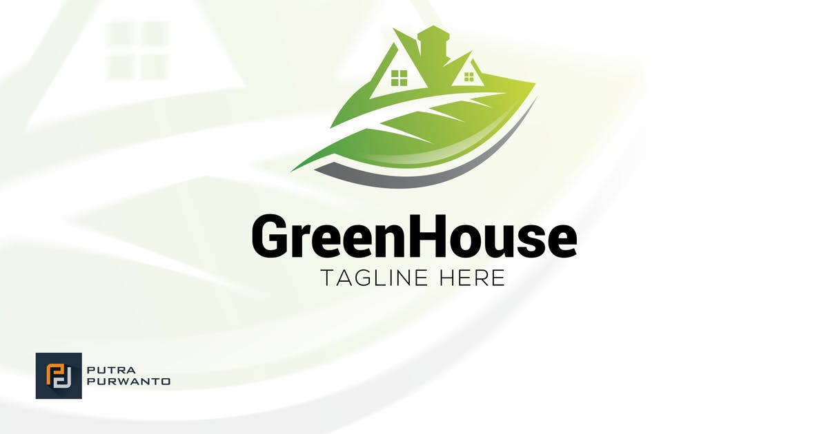 Download Green House - Logo Template by putra_purwanto