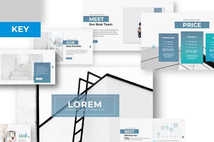 Cover Image For Lorem Business Keynote