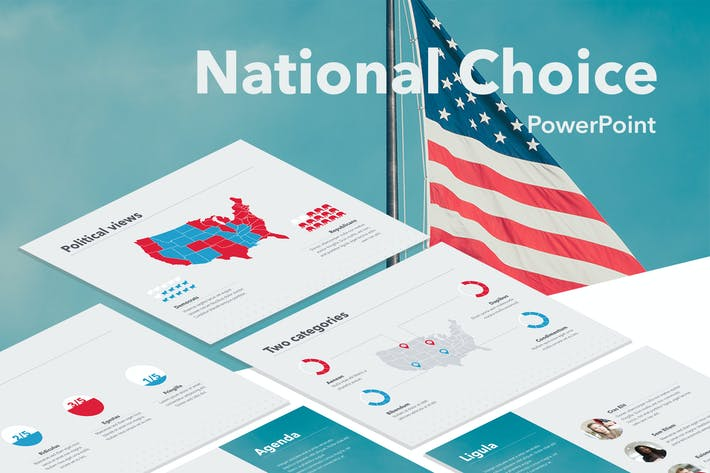Thumbnail for National Choice PowerPoint Template