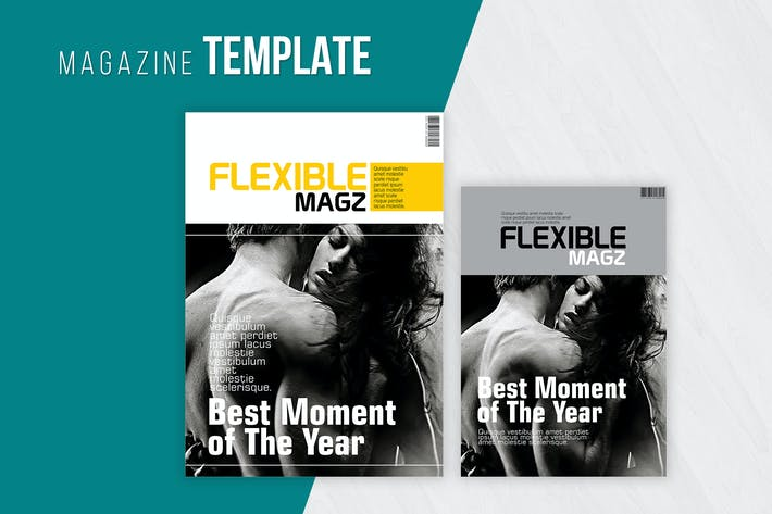 Thumbnail for Clean and Modern Magazine Template