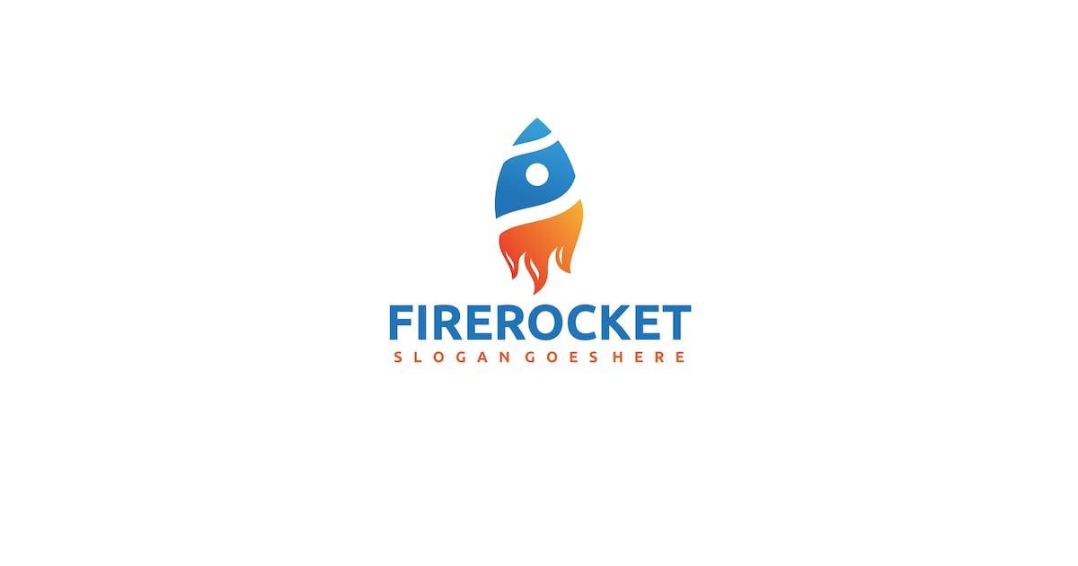 Download Fire Rocket Logo by 3ab2ou