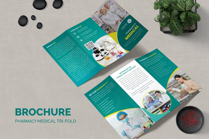 Thumbnail for Pharmacy Medical Trifold Brochure