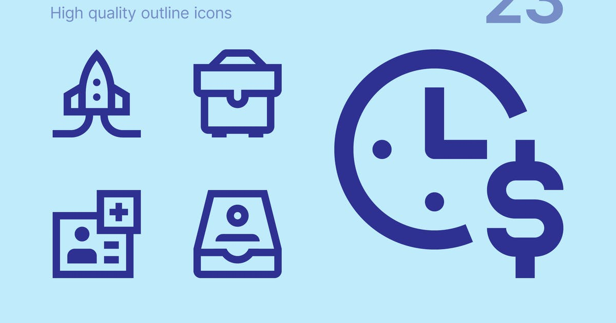 Download Business icons by polshindanil