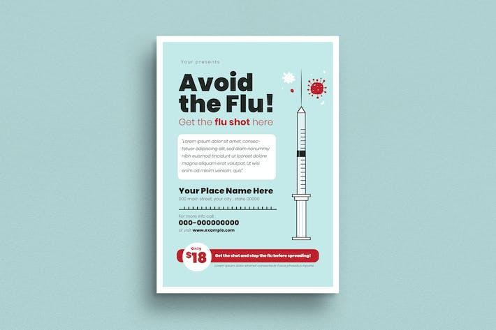 Thumbnail for Flu Shot Campaign Flyer