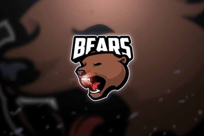 Thumbnail for Bear - Mascot & Esport Logo