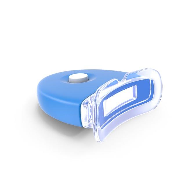 Lámpara de blanqueamiento de dientes LED de flash encendida