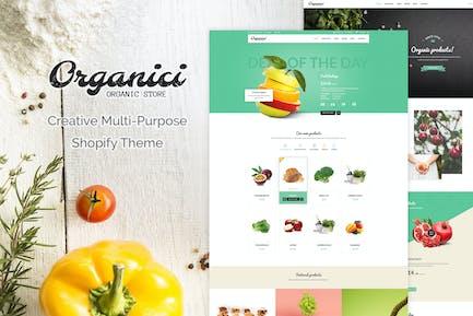 Organici | Creative Multi-Purpose Shopify Theme