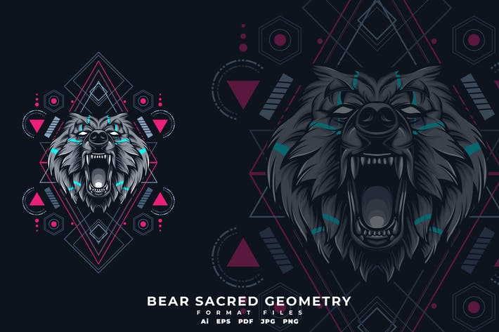 Thumbnail for BEAR SACRED GEOMETRY