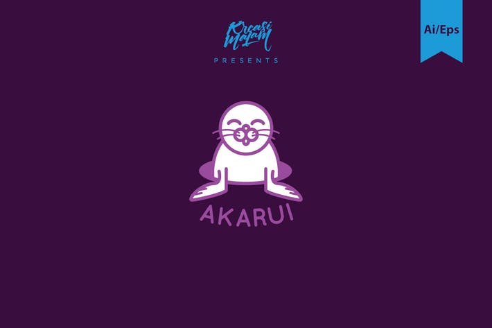 Thumbnail for Akarui Logo Template