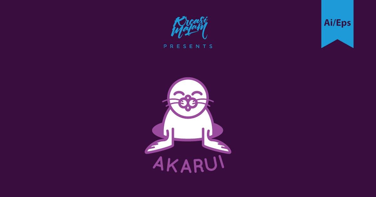 Download Akarui Logo Template by Ijajil