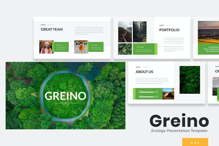 Cover Image For Greino - Nature Google Slides Template