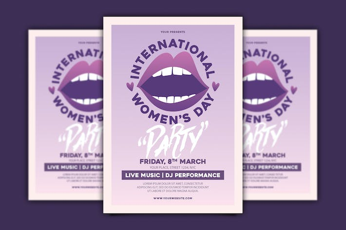 Thumbnail for International Women's Day Flyer
