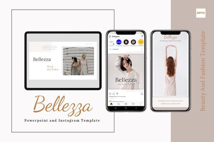 Belezza - Шаблон Powerpoint & Instagram