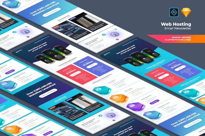 Thumbnail for Web Hosting Correo electrónico Boletín informativo 01