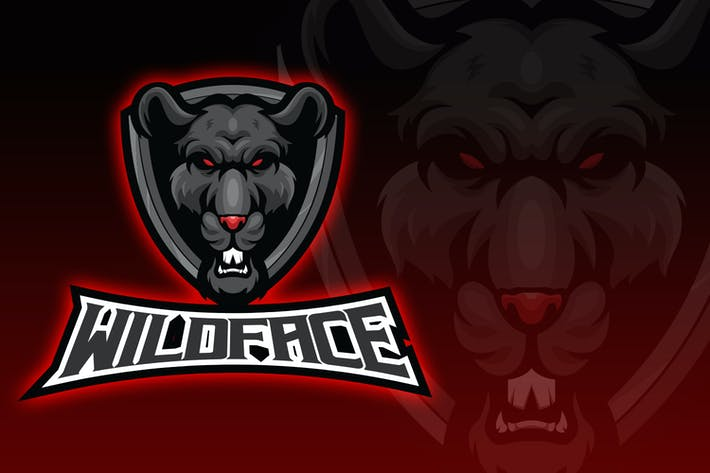 Thumbnail for Logo Esport Wild Face