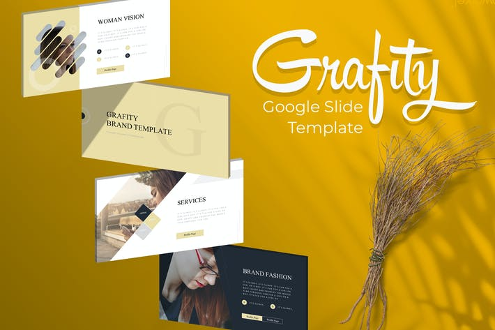 Cover Image For Grafity - Google Slide Template