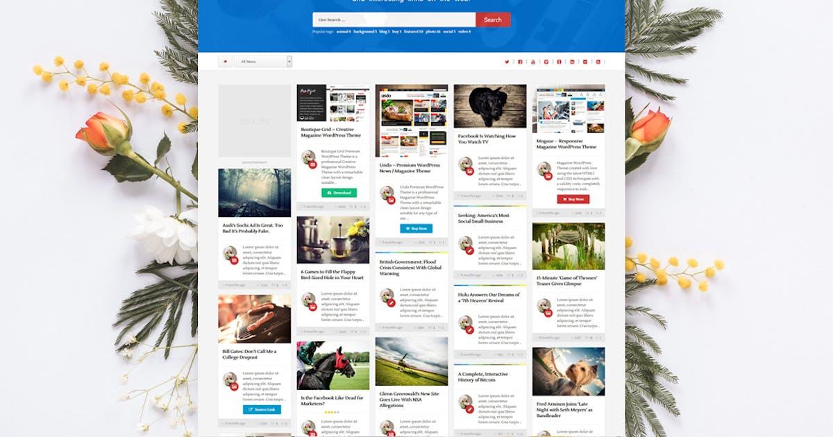 Download 1Page - Masonry WordPress Theme by An-Themes