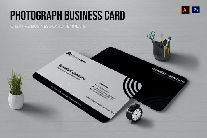 Thumbnail for Great Photographer Business Card