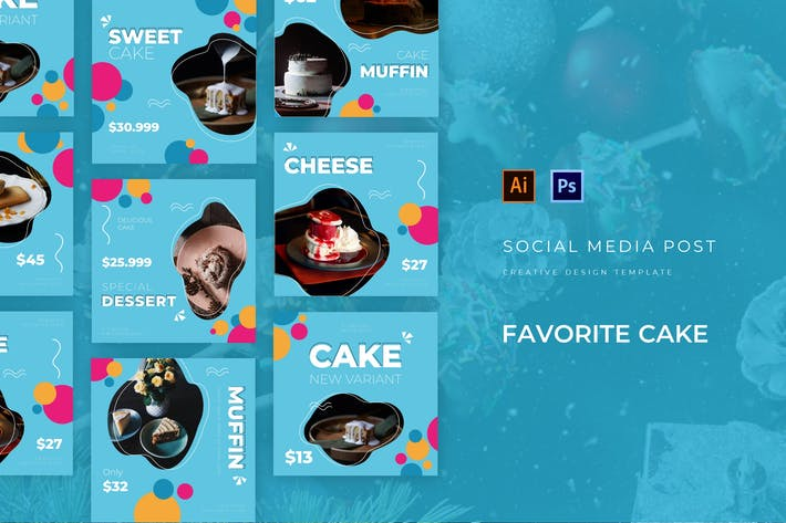 Thumbnail for Favorite Cake Social Media Post