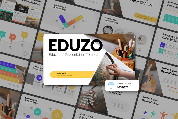 Thumbnail for EDUZO - Education Keynote Template
