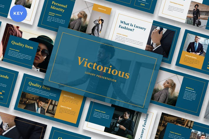 Thumbnail for Victorious - Luxury Suit Keynote