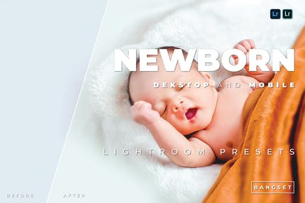 Newborn Desktop and Mobile Lightroom Preset