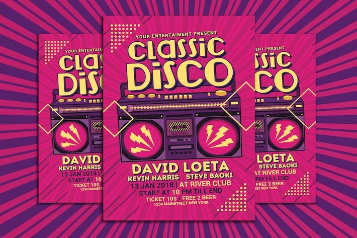 Thumbnail for Classic Disco Radio Flyer