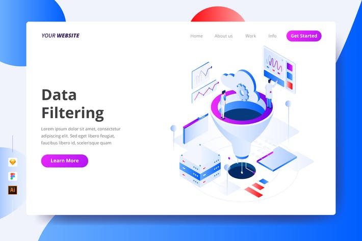 Thumbnail for Data Filtering - Landing Page