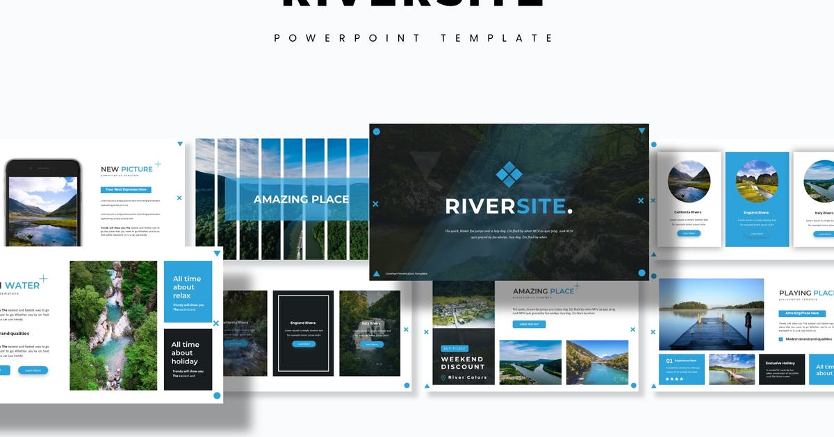 Download Riversite - Powerpoint Template by aqrstudio