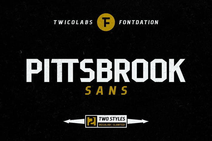 Thumbnail for Pittsbrook Sans