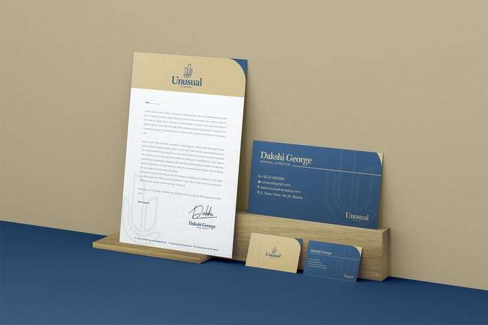 Business Identity & Stationery Pack