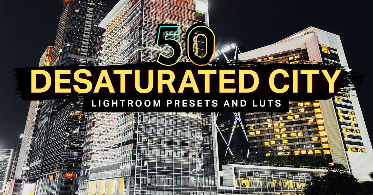 Download 50 Desaturated City Lightroom Presets and LUTs by sparklestock