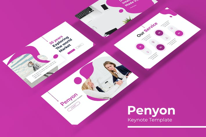 Thumbnail for Penyon - Plantilla de Keynote