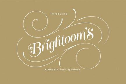 Brightooms Typeface