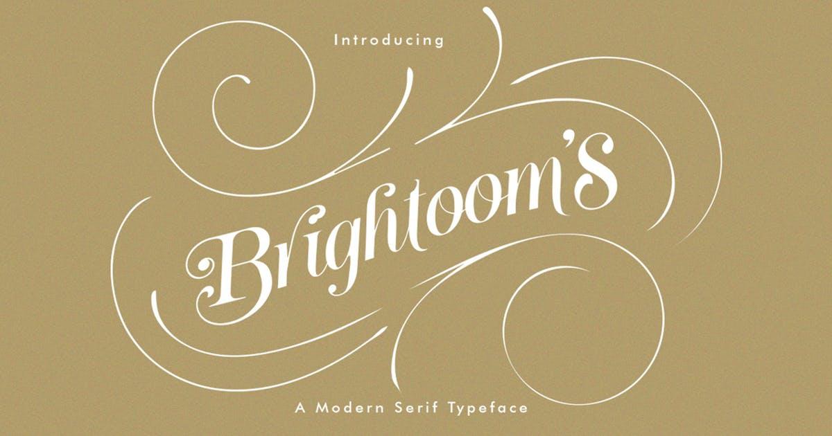 Download Brightooms Typeface by Typica_Studio